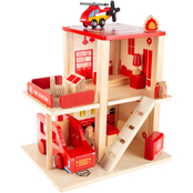 Hey! Play! Fire Station Play Set