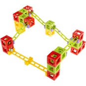Hey! Play! Magnetic 3D Block Marble Run 36 pc. Set