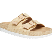 Madden Girl Women's Goldiie R Footbed Sandals