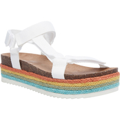 Madden Girl Women's Cambridge Footbed Sandals