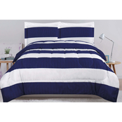 Game Day Stripe Comforter Set