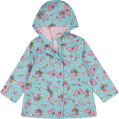 Carter's Little Girls Butterfly Raincoat