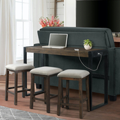 Elements Caesar Occasional Bar Table with 3 Stools