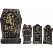 Fun World 4 in 1 Tombstone 4 pc. Set
