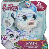 Furreal Friends North the Sabertooth Kitty Interactive Pet Toy