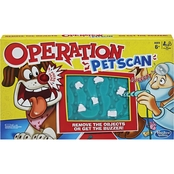 Hasbro Operation Pet Scan Board Game