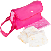 Hey! Play! Baby Doll Pretend Play Diaper Bag
