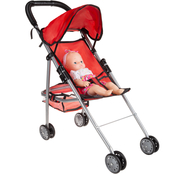 Hey! Play! Toy Stroller for 10 in. Baby Dolls