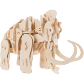 Hey! Play! 3D Wooden Woolly Mammoth Puzzle Building Model