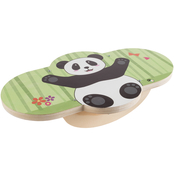 Hey! Play! Wooden Balance Board with Panda Design
