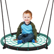 Hey! Play! Spider Web Tree Swing