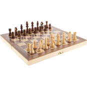 Hey! Play! Beginner Chess Set with Folding Wooden Board