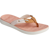 Sperry Women's Adriatic Skip Lace Seersucker Flip Flops