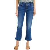 Lucky Brand Ava Crop Mini Boot Jeans