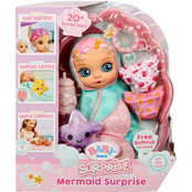 MGA Entertainment Baby Born Mermaid Surprise Teal Swaddle