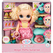 MGA Entertainment Baby Born Surprise Magic Potty Surprise Blue Eyes
