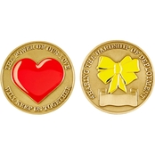 Challenge Coin Power Of Love Coin