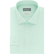 Michael Kors Non Iron AirSoft Cotton Stretch Regular Fit Dress Shirt