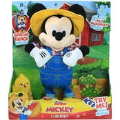 Just Play Disney Junior Mickey Mouse E I Oh! Feature Plush