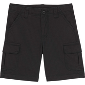 Gumballs Toddler Boys Textured Cotton Cargo Shorts
