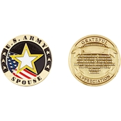 Challenge Coin U.S. Army Spouse Coin