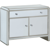 Coast to Coast Accents Champagne Reflections Cabinet