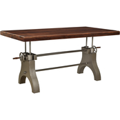 Coast to Coast Accents Tacoma 80 in. Rectangle Dining Table
