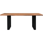 Coast to Coast Accents Brownstone II Dining Table