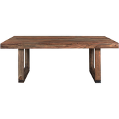 Coast to Coast Accents Brownstone Dining Table
