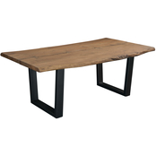 Coast to Coast Solid Wood Live Edge Dining Table
