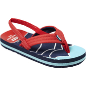 Reef Toddler Boys Little Ahi Mountain Wave Sandals