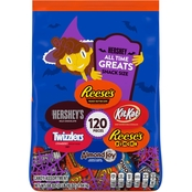 Hershey's All Time Greats Chocolate Candy Assortment 120 pc.