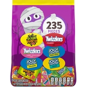 Hershey's Assorted Sugar Candy Halloween Mix Stand Up Bag 235 pc. 69.01 oz.