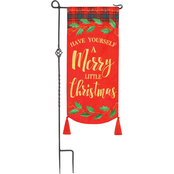 Evergreen Merry Little Christmas Everlasting Impressions Textile Decor