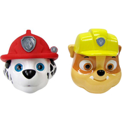 Paw Patrol Marshall and Rubble 2 pc. Bath Squirter Playset