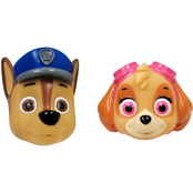 Paw Patrol Chase and Skye 2 pc. Bath Squirters Playset
