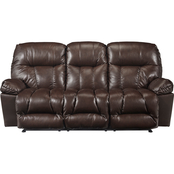 Best Home Furnishings Retreat Leather Reclining Sofa