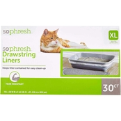 So Phresh Scented Drawstring Cat Litter Box Liners 30 ct.