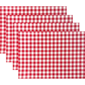 Benson Mills Brevard Gingham 4 pc. Placemat Set