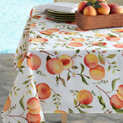 Benson Mills Sweet Peaches Tablecloth 60x84