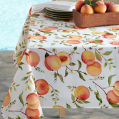 Benson Mills Sweet Peaches Tablecloth 60x104