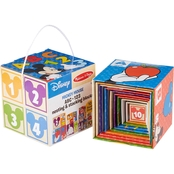 Melissa & Doug Mickey Mouse ABC 123 Nesting and Stacking Blocks