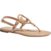 Coach Women's Jeri Patent Leather Sandals