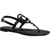 COACH Jeri Patent Leather Sandals