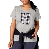 Tommy Hilfiger Plus Size H Applique Tee