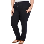 Tommy Hilfiger Plus Size Linen Pants