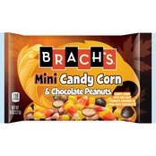 Brach's Mini Candy Corn and Chocolate Peanuts 8 oz.