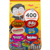 Hershey's Variety Mix Halloween Miniatures Chocolate Candy 400 pc., 117.5 oz.