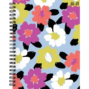 TF Publishing July 2020 - June 2021 Floral Print Weekly Monthly Planner