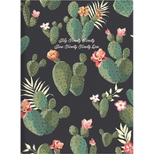TF Publishing July 2020 to June 2021 Cacti Colors Medium Monthly Planner